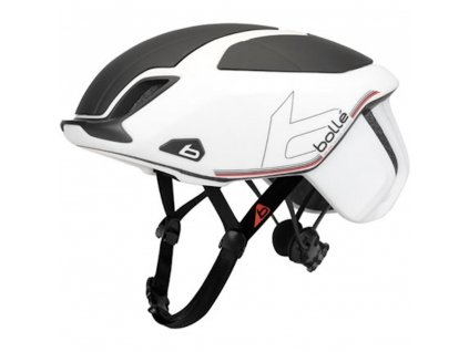 Bollé The One Road Premium Bike Helm with LED Light - White 51-54cm
