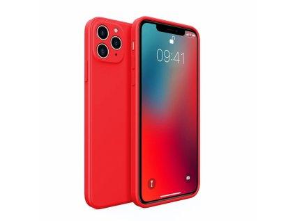 Liquid Silicone Case iPhone 11 Pro Max - Red