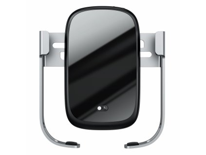 Baseus Rock Solid IR Mount with 10W Wireless Charger - Silver