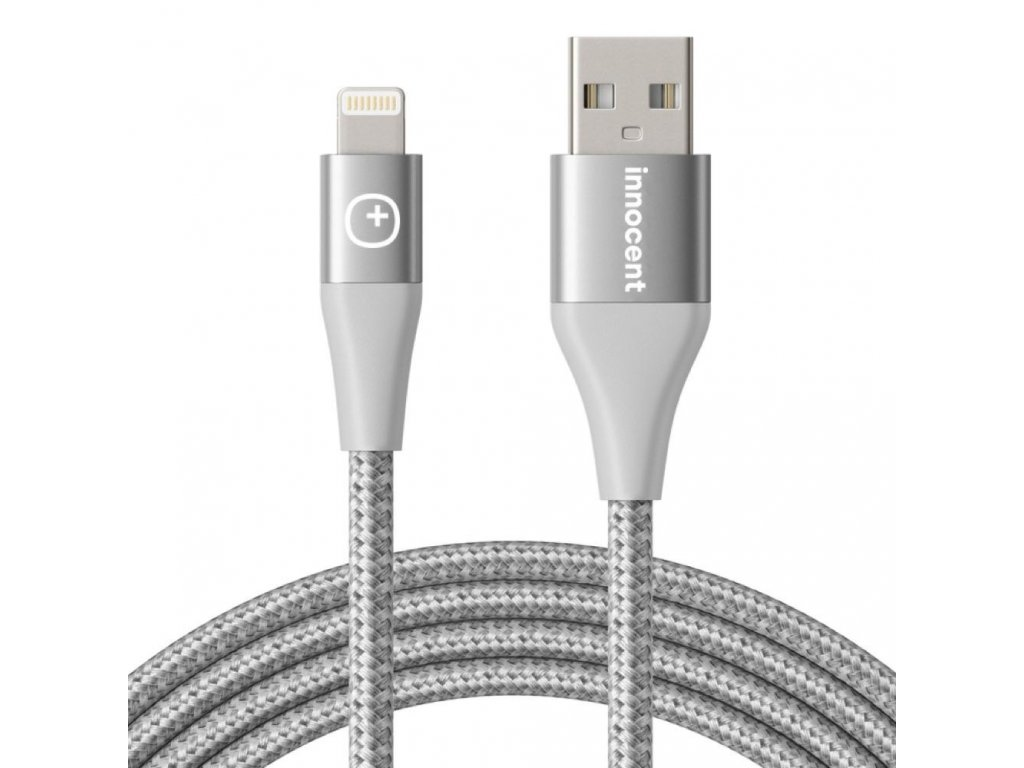 Innocent Flash FastCharge Lightning Cable 1,5m  - Silver
