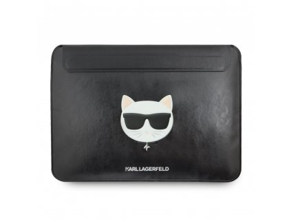"""Karl Lagerfeld Leather Sleeve for MacBook Air/Pro 13"""" - Choupette"""