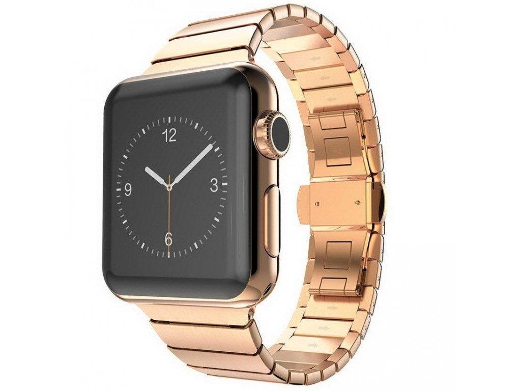 Innocent Link Bracelet Apple Watch Band 42/44mm - Rose gold