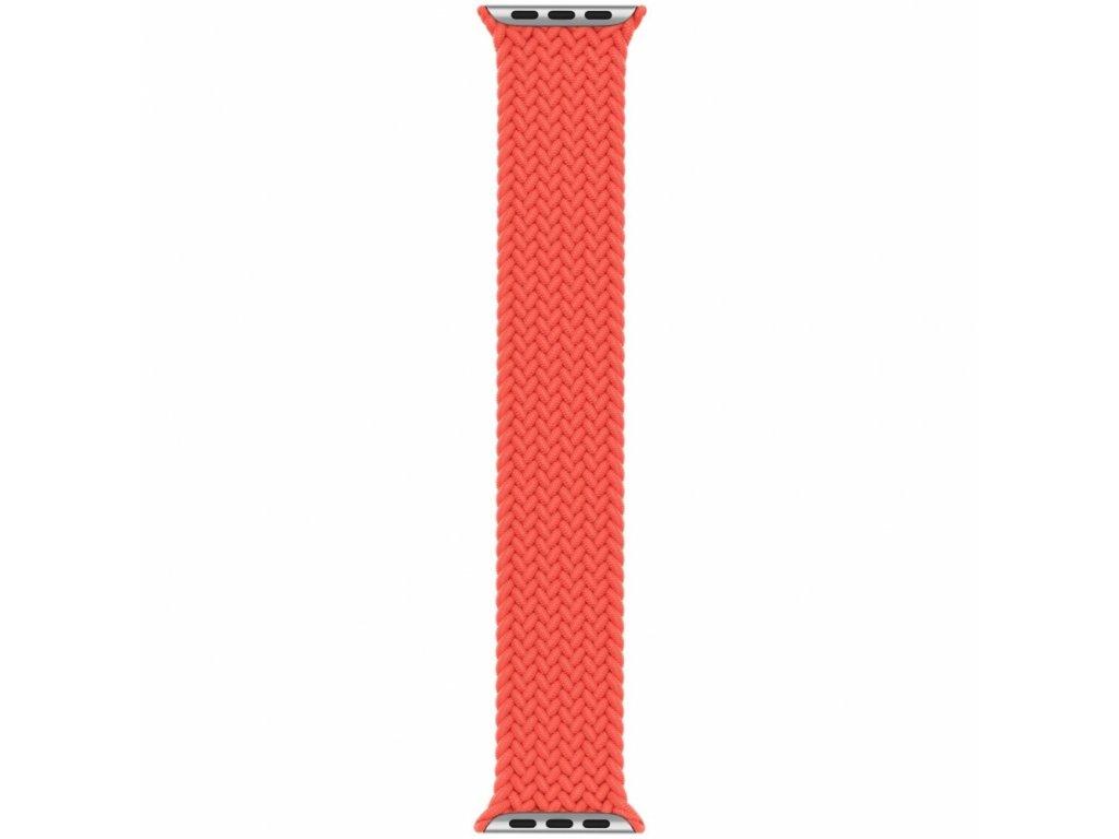 Innocent Braided Solo Loop Apple Watch Band 42/44mm - Orange - L (172MM)