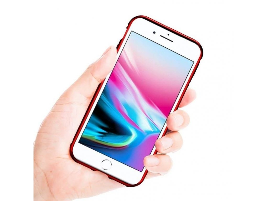 Innocent Durable Magnetic Case 9H iPhone 6s/6 - Red