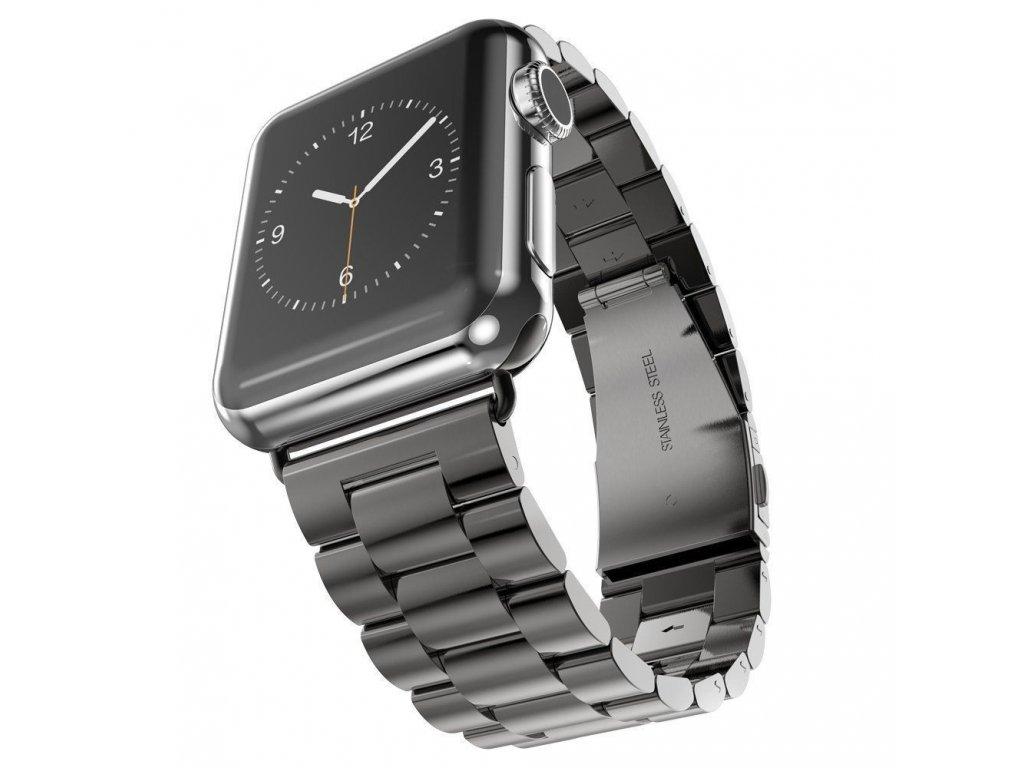 Innocent Folding Clasp Apple Watch Band 38/40mm - Black
