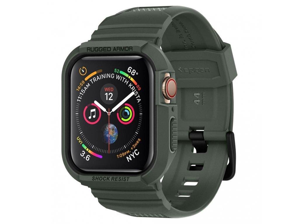 Spigen Rugged Armor Pro Apple Watch 4/5 44 mm - Olive Green