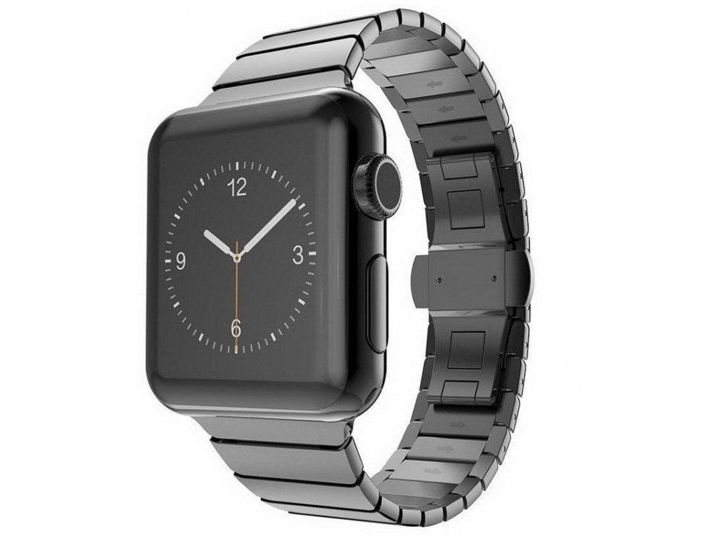Innocent Link Bracelet Apple Watch Band 42/44mm - Black