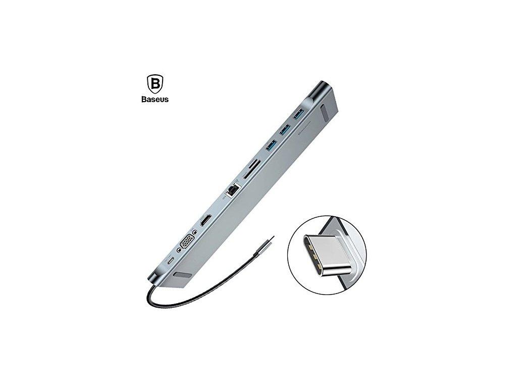 Baseus Enjoyment Series USB HUB 10 in 1