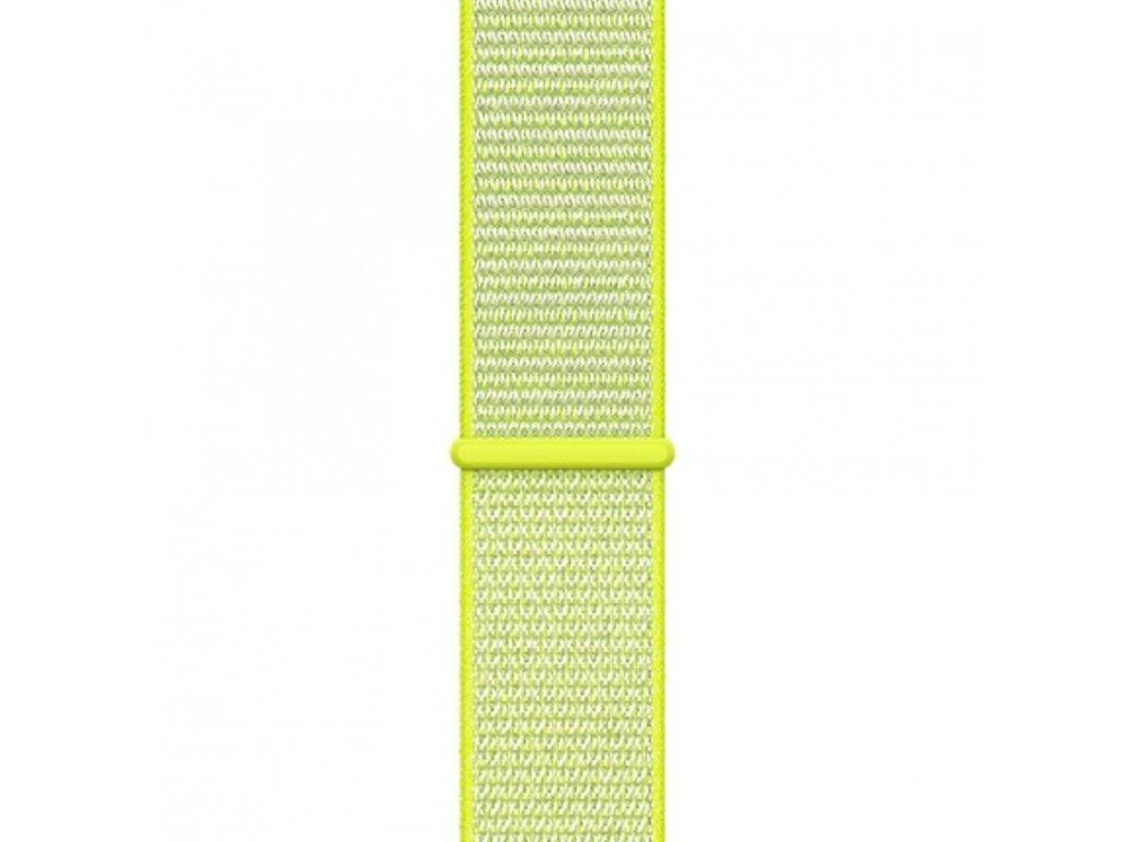 Innocent Fabric Loop Apple Watch Band 42/44mm - yellow