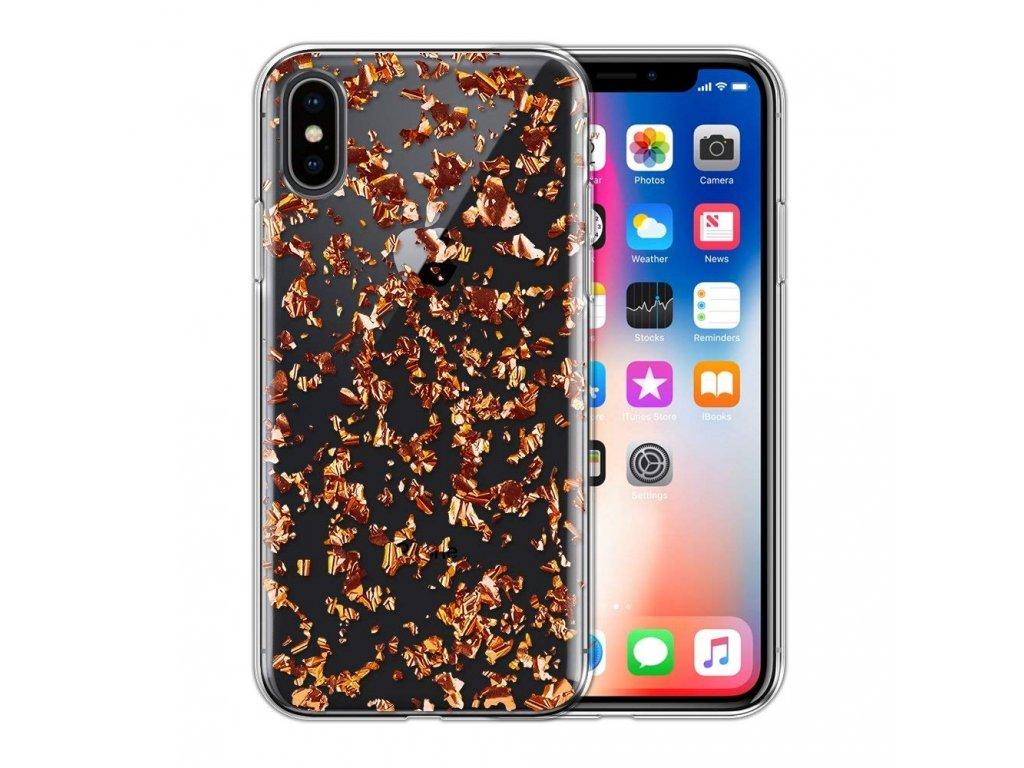 InnocentMade 24k Magic Case iPhone X - Rose gold