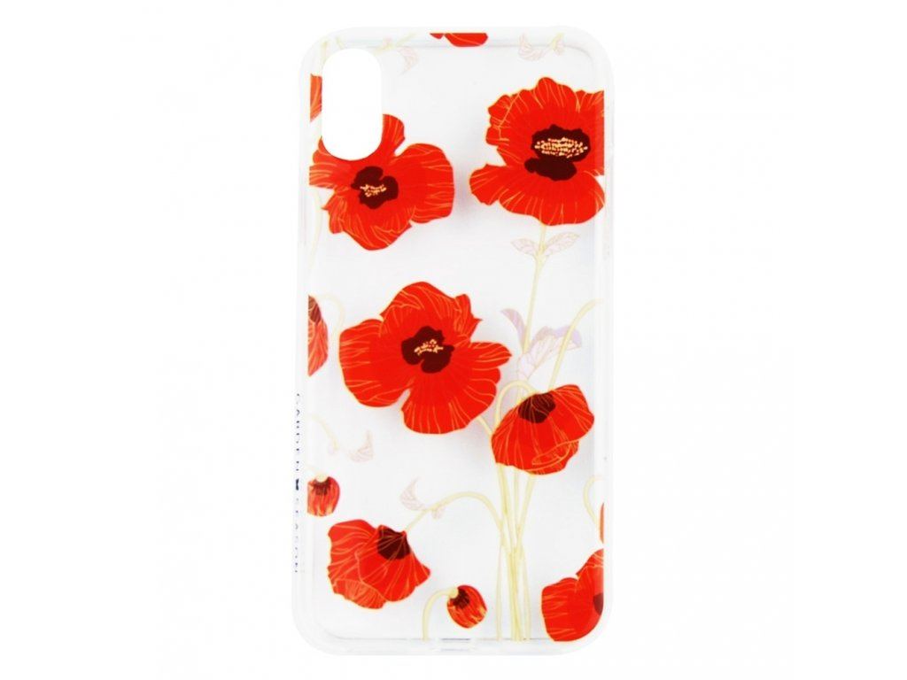 Innocent Garden Season Poppy Flowers Case iPhone X
