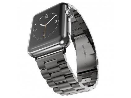 Innocent Folding Clasp Apple Watch Band 42/44mm - Black