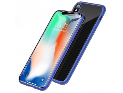 Innocent Durable Magnetic Case 9H iPhone XS Max - Blue