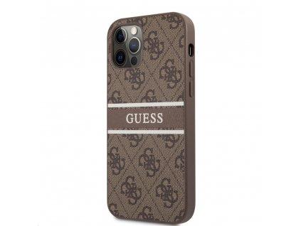 Guess PU 4G Printed Stripe Case iPhone 12/12 Pro