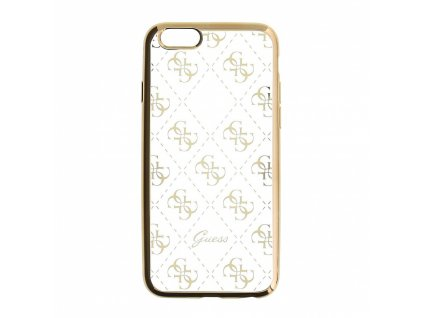 Guess 4G TPU Case iPhone SE/5s/5 - Gold