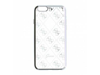 Guess 4G TPU Case iPhone SE/5s/5 - Silver