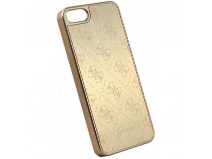 Guess 4G Aluminium Case iPhone SE/5s/5 - Gold