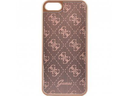 Guess 4G Aluminium Case iPhone SE/5s/5 - Rose Gold