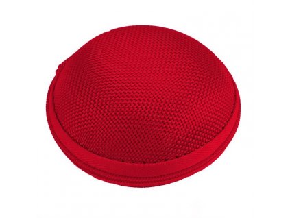Innocent Macarons Earphones Hard Pouch - Red