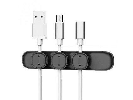 Baseus Peas Cable Clip - Black