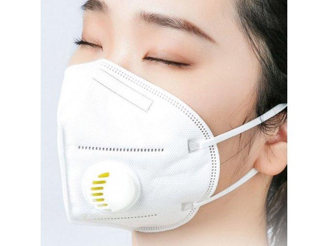 Respirátor FFP2 (N95) s výdechovým ventilem3