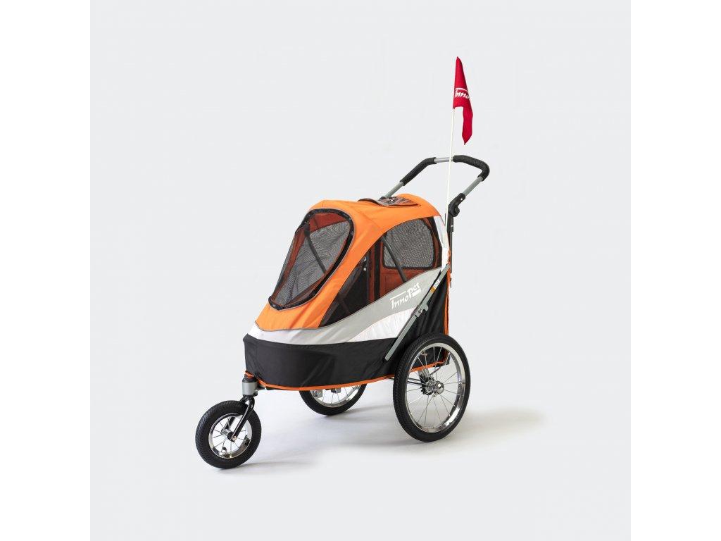 Kocarek pro psy innopet buggy sporty dog trailer deluxe 1