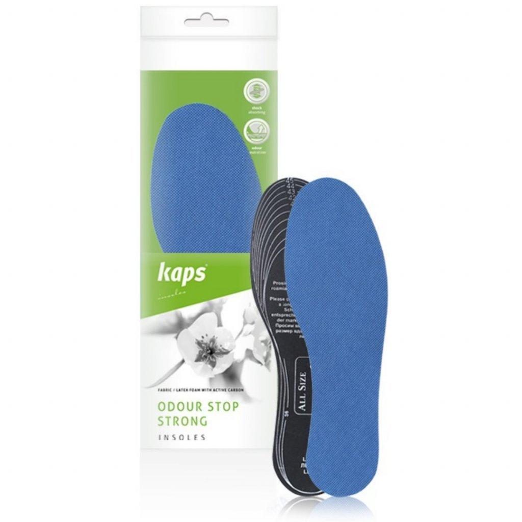 Vložky do bot proti zápachu Kaps Odour Stop Strong1