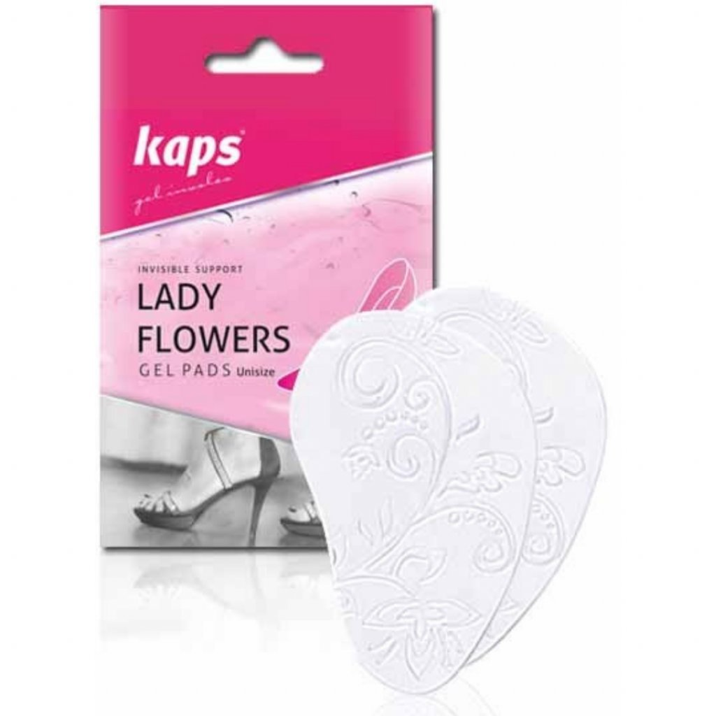 Protiskluzové polštářky do lodiček Kaps Lady Flowers1