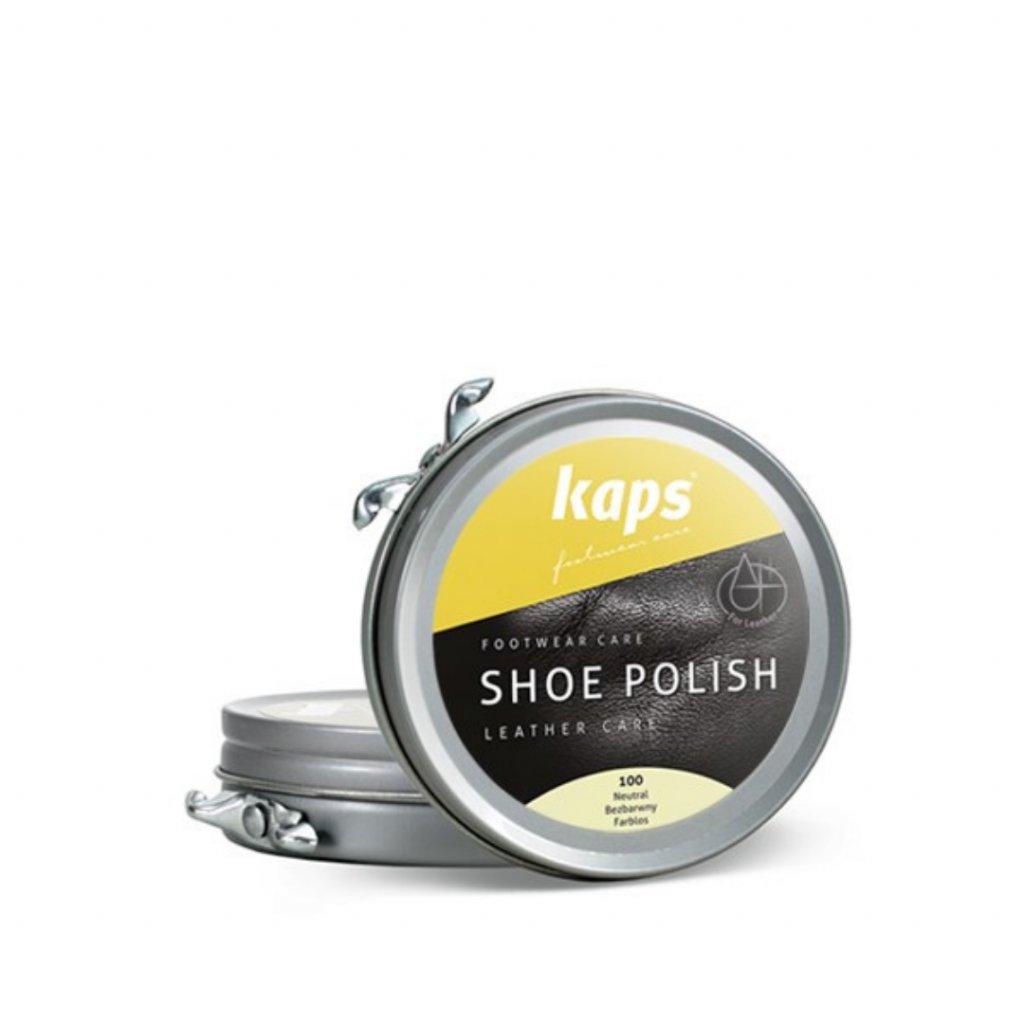 Krém na boty Kaps Shoe Polish