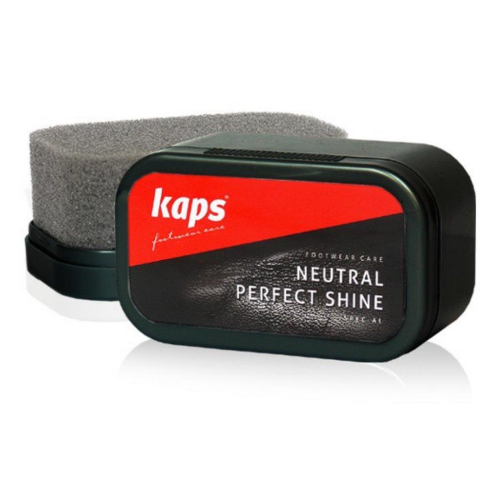 Houbička na leštění bot Kaps Neutral Perfect Shine