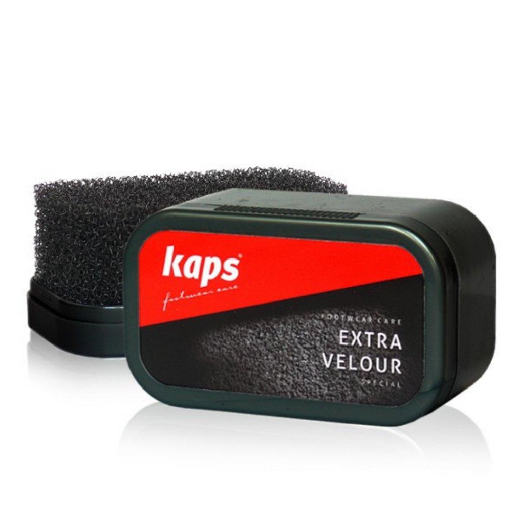 Houbička na čištění semišových bot Kaps Extra Velour