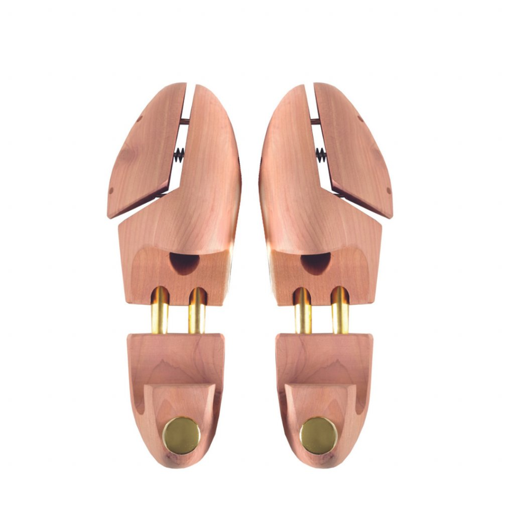 Napínák do bot z cedrového dřeva Kaps