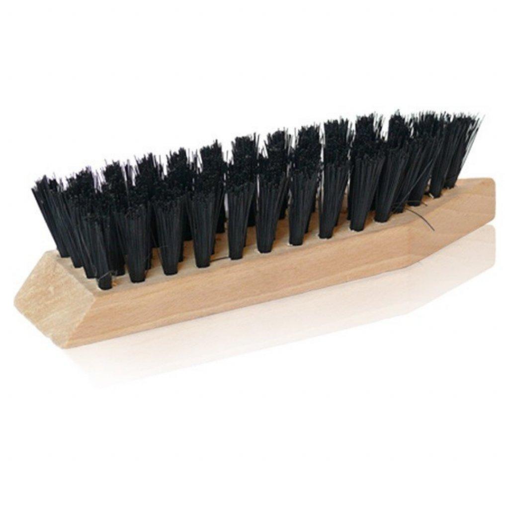 Kartáč na čištění bláta z bot s umělým vlasem Kaps - velký