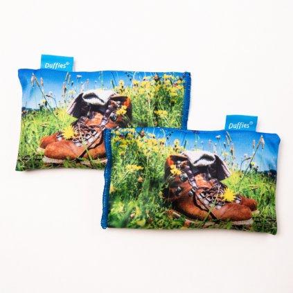 Voňavé filtry Duffies do turistické obuvi sáčky