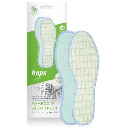 Vložky do bot proti pocení Kaps Bamboo Alum Fresh1