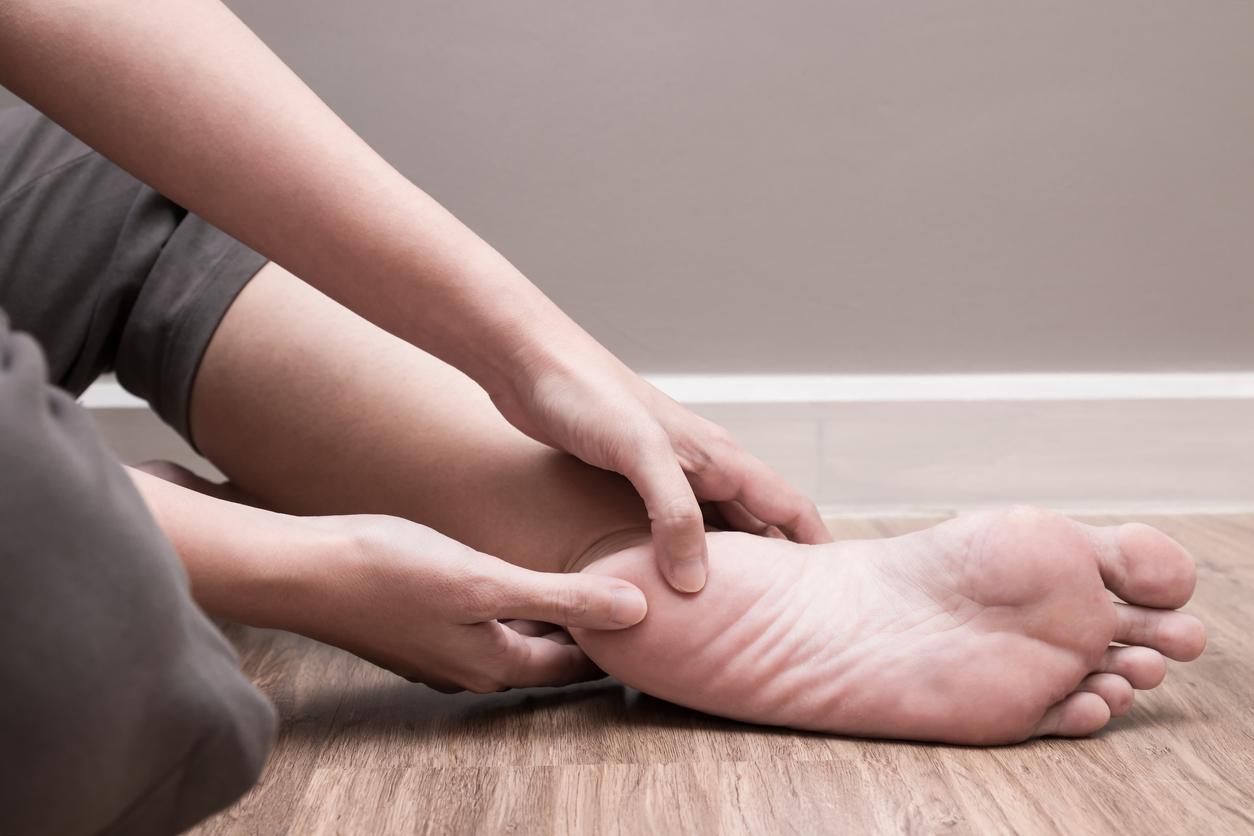 Čo pomáha na bolesť päty