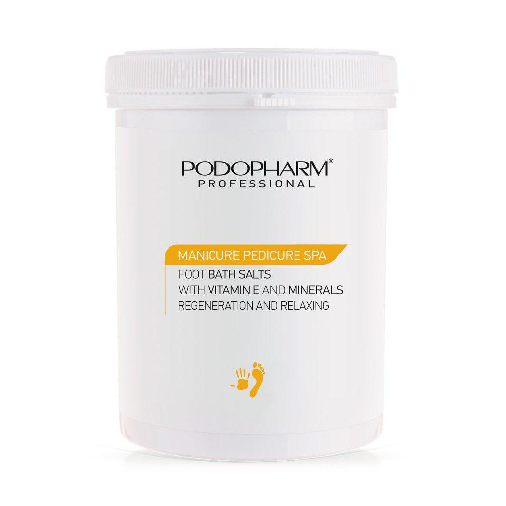 Soľ do kúpeľa na nohy s vitamínom E Podopharm 1400g