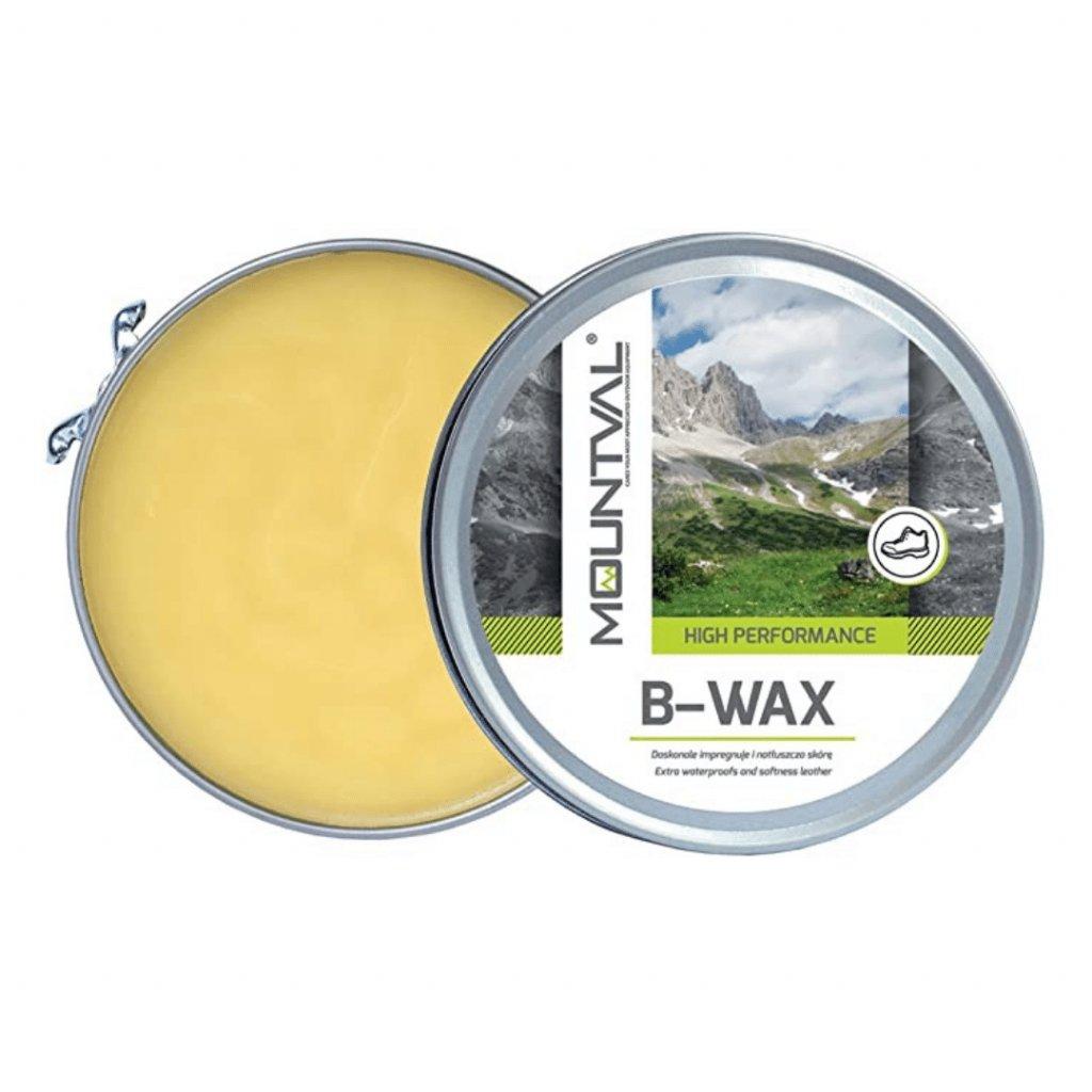 Krém na koženú turisticku obuv Mountval B-WAX