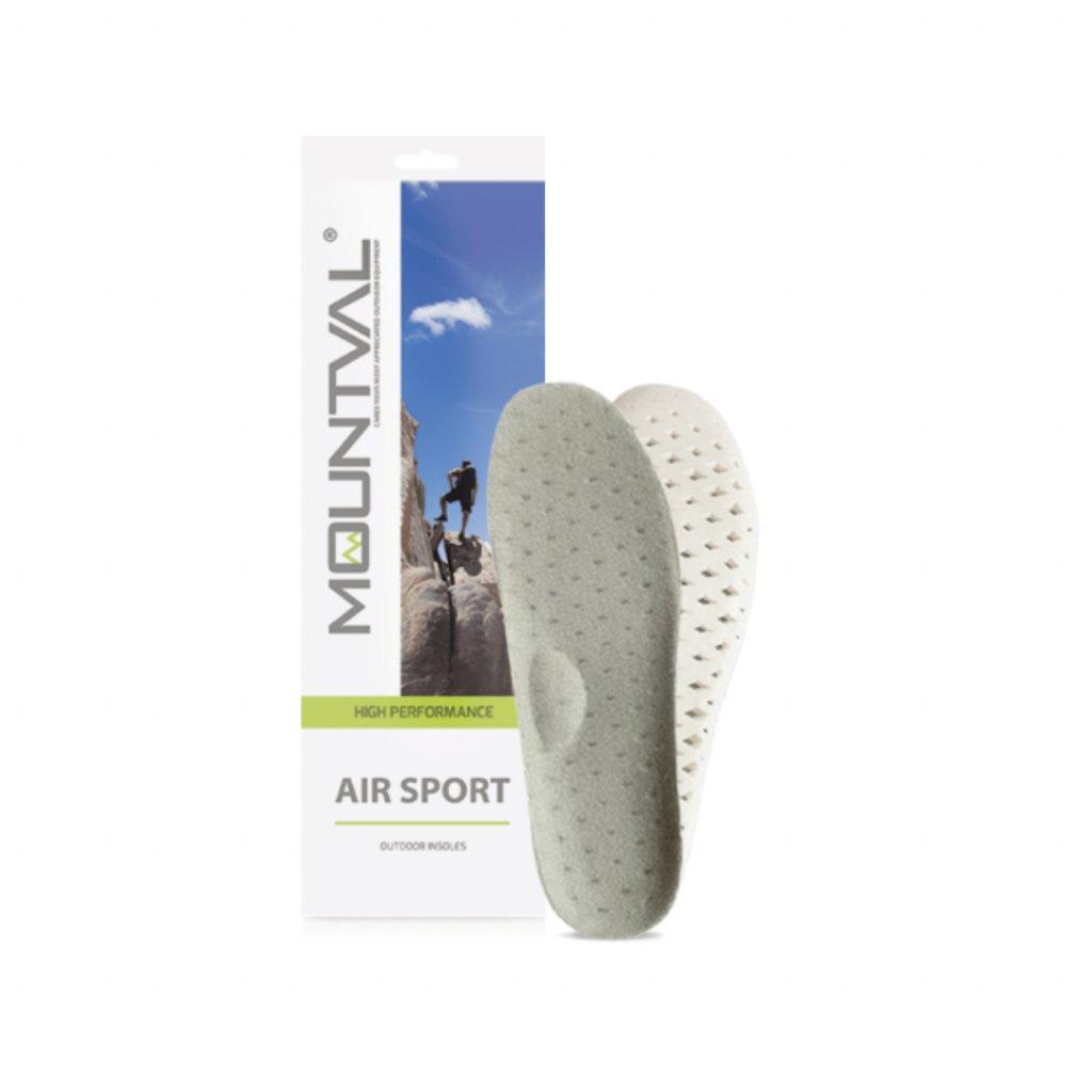 Odvetrané vložky do trekingovej obuvi Mountval Air Sport
