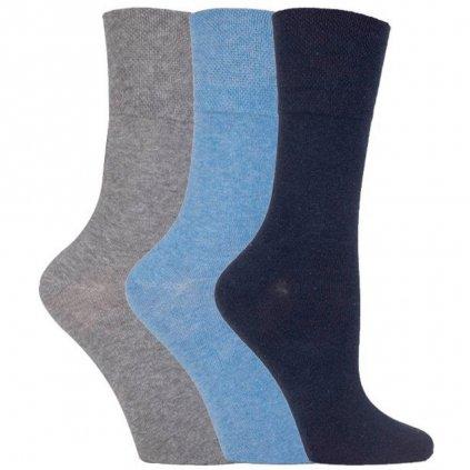 Dámske ponožky pre diabetikov IOMI Gentle Grip