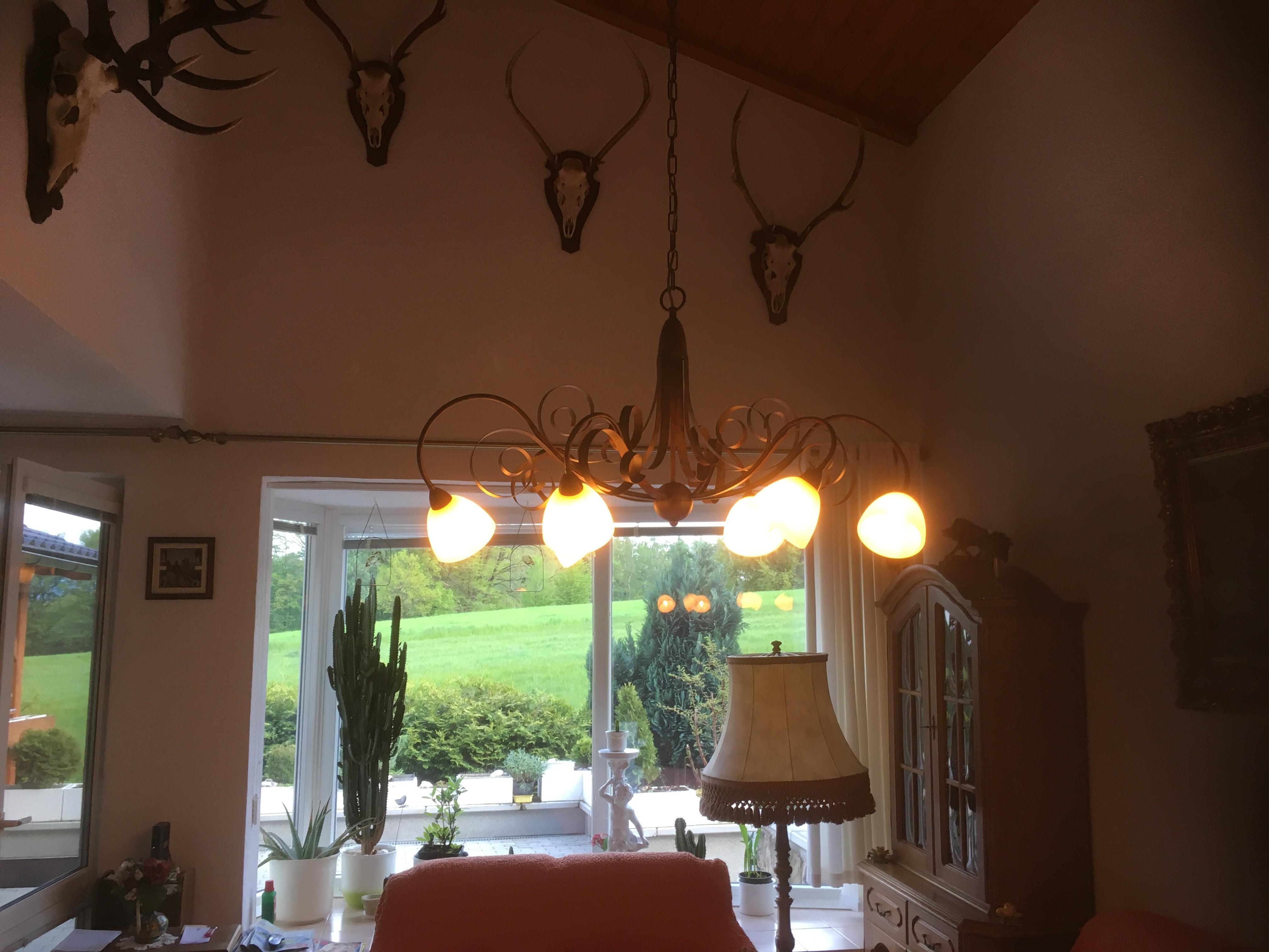Návrh a montáž klasického lustru - Lam Via Dese (Itálie)