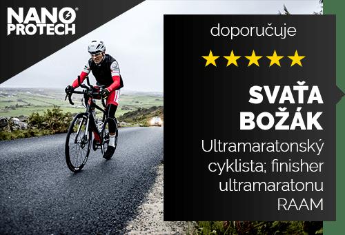 Svaťa Božák - Ultramaratonský cyklista; První český finisher ultramaratonu RAAM - Race Across America