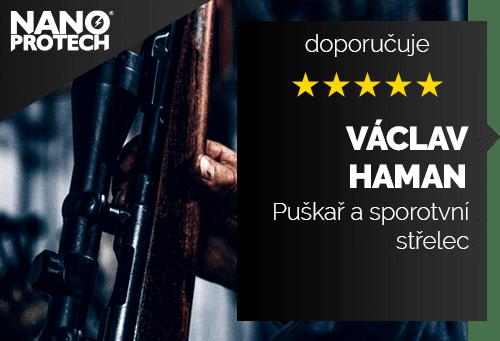 Václav Haman - puškař a sportovní střelec