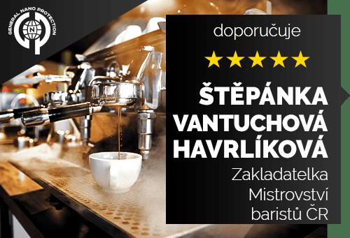 Štěpánka Vantuchová Havrlíková - Zakladatelka Mistrovství baristů ČR