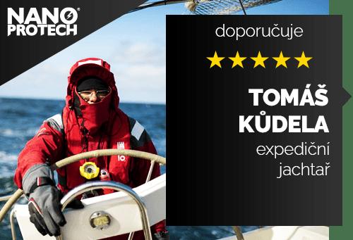 Tomáš Kůdela - expediční jachtař