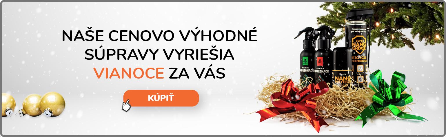 Naše cenovo výhodné súpravy vyriešia vianoce za vás!