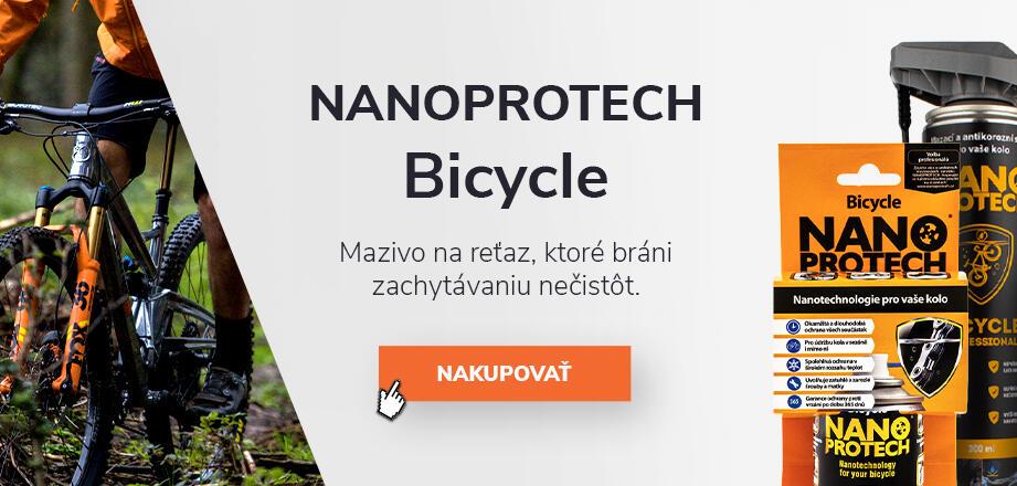 NANOPROTECH Bicycle - antikorózne mazivo na reťaz