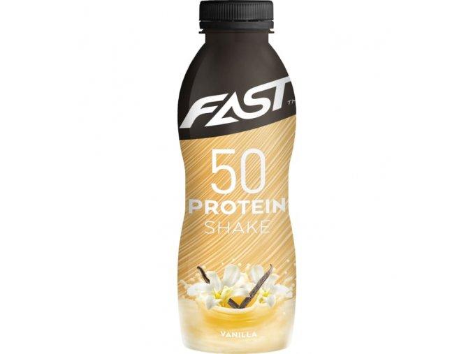 fast protein 50 shake 500 ml vanilja insidefit cz
