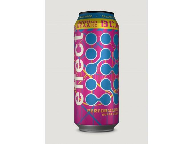 bcaa performance super berry effect 500ml can