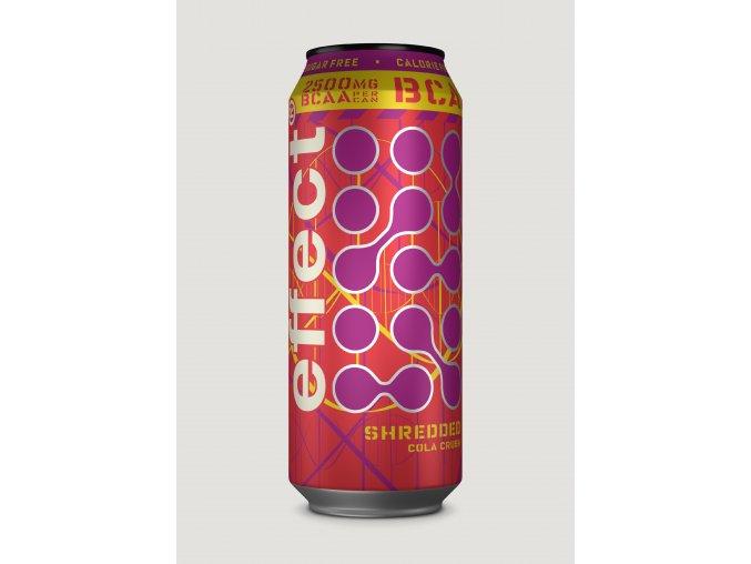 bcaa shredded cola crush effect 500ml can